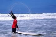 Atlantik wellenreiten surfen carcans plage