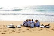 Atlantik wellenreitkurs team jugendreise