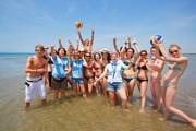 Action-beach-volleyball-jugendreise