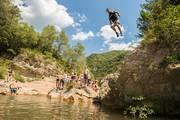 Watertrekking-im-bergcamp-klippen