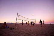 Beachvolleyball-action-strand-jugendreise