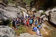 Pyrenaen-watertrekking-gruppe-ausflug