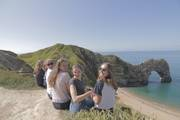 Durdle door sightseeing ausflug