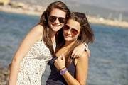 Marina julia freundinnen strand meer